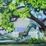 Original Acrylic Painting of IRB Tree